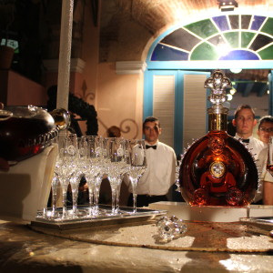 Louis XIII party in Havana, Cuba