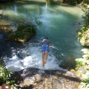 Explore the forest in Western Cuba and reward yourself with a swim in a freshwater forest pool
