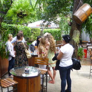 Women's International Cigar Club, Havana garden party 2014
